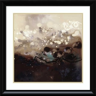 Framed Art Print 'Constellations II' by Laurie Maitland: Outer Size 28 x 28-inch