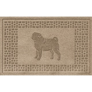 Pug Fashion 2x3 Doormat