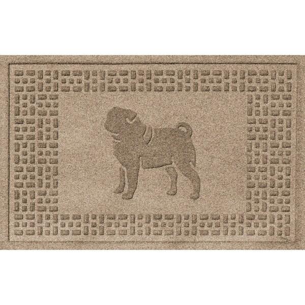 Pug Fashion 2x3 Doormat