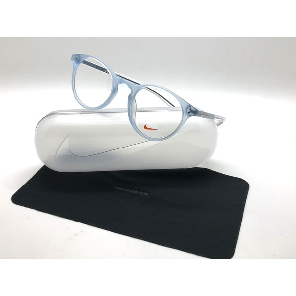 d0d16b0be7 Nike Eyeglasses 36KD 450 Matte Crystal Blue Frames 49MM RX-ABLE. Click to  Zoom