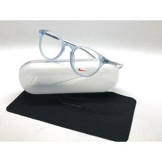 f2a9d1292853 Shop Nike Eyeglasses 36KD 450 Matte Crystal Blue Frames 49MM RX-ABLE - Free  Shipping Today - Overstock - 24250400