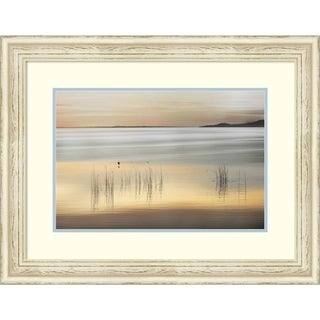 Framed Art Print 'Golden' by Marvin Pelkey: Outer Size 30 x 24-inch
