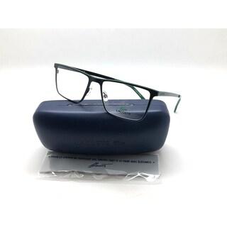New LACOSTE Eyeglasses Frame L2232 001 RX Matte Black 54-17-145 Unisex Metal