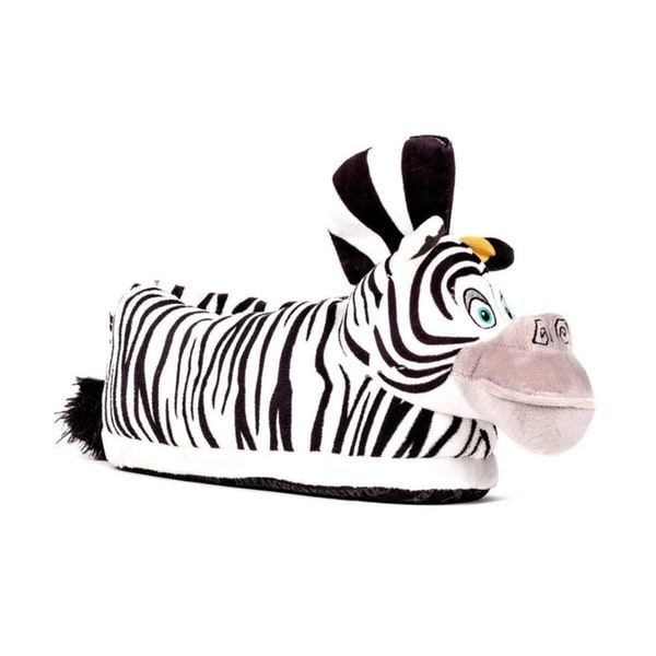 d2986b878 DreamWorks Madagascar - Marty Slippers - Happy Feet Mens and Womens Slippers