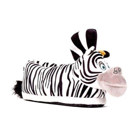DreamWorks Madagascar - Marty Slippers - Happy Feet Mens and Womens Slippers