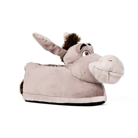 DreamWorks Shrek - Donkey Slippers - Happy Feet Mens and Womens Slippers