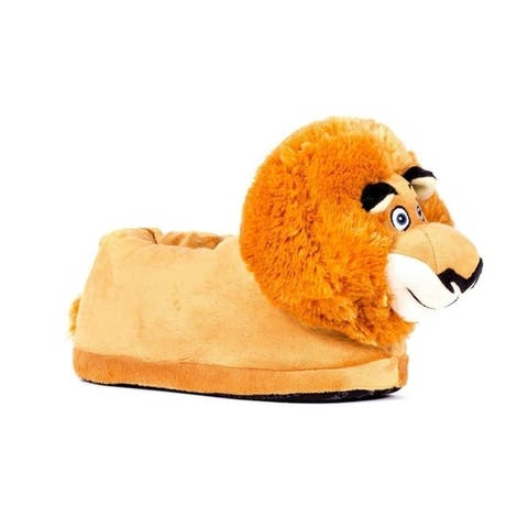 DreamWorks Madagascar - Alex Slippers - Happy Feet Mens and Womens Slippers