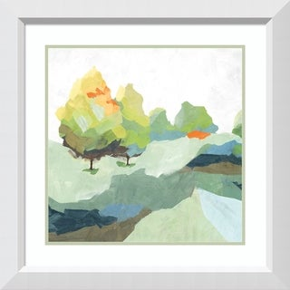 Framed Art Print 'Blocked II' by Isabelle Z: Outer Size 28 x 28-inch