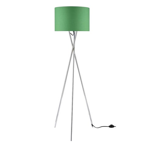 "Euro Style Collection Lisboa 63"" Tripod Floor Lamp-Green"