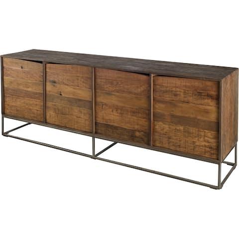 Mercana Hans Iron/Wood Sideboard