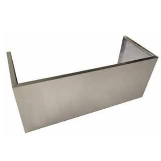 "NXR Stainless Steel Range Hood Chimney Cover Extension, 36"""