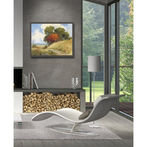 Country Road Framed Canvas Wall Art