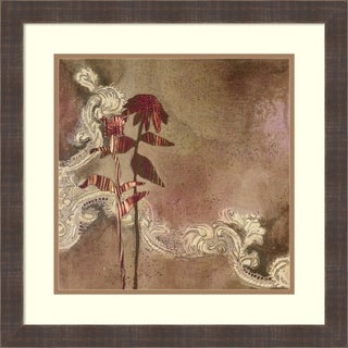 Framed Art Print 'Soul Remedy I' by Gina Miller: Outer Size 22 x 22-inch