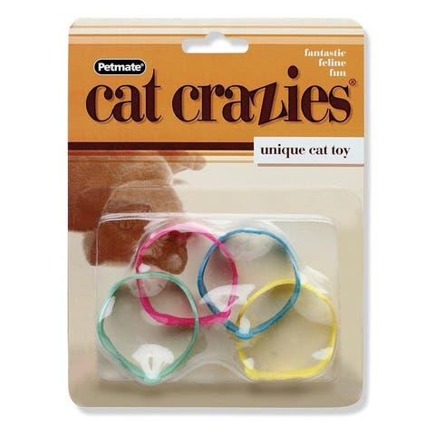 Petmate Cat Crazies Cat Bracelet Toys - 4 pack