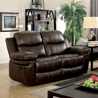 Williams Import CM6992-LV Listowel Transitional Love Seat in Brown Finish