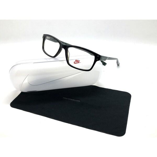 2ae294e584 Shop Nike 7231 (200) Matte Tortoise Green 53 16 140 Eyeglasses NK ...