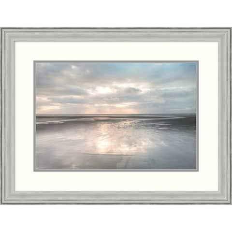 Framed Art Print 'Silver Sands' by Assaf Frank: Outer Size 30 x 23-inch