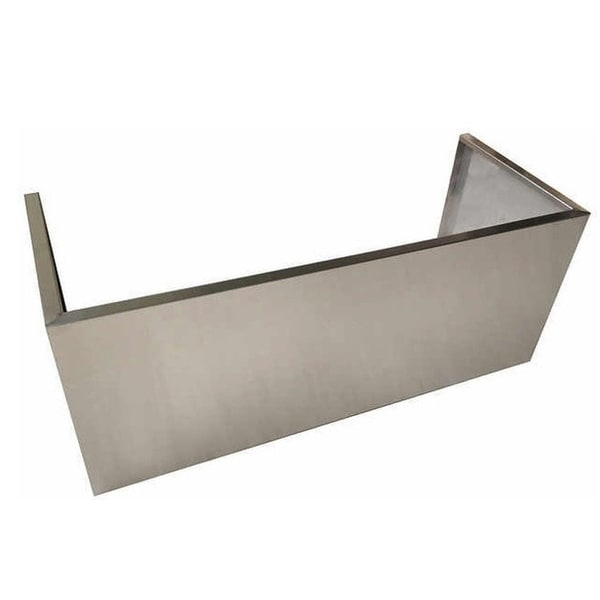 Nxr Stainless Steel Range Hood Chimney Cover Extension 48
