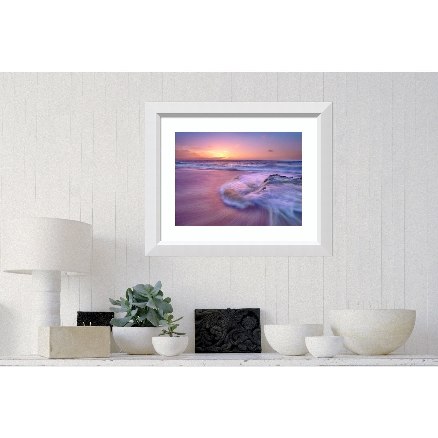 Shop For Framed Art Print Sandy Beach At Sunset Oahu Hawaii By Tim Fitzharris Outer Size 29 X 24 Inch Get Free Delivery On Everything At Overstock Your Online Art Gallery Store Get 5 In Rewards With Club O 24251128