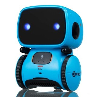 Contixo R1 Voice Controlled Kids Toy Robot, Interactive Talking Touch Sensor Dancing Speech Recognition for Toddler Children