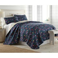 Boho Bloom Reversible Quilt Cover and Sham Set