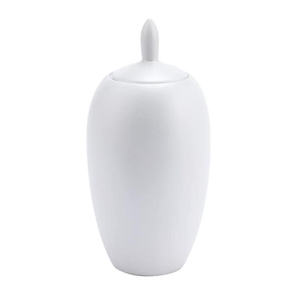 Carson Carrington Pearl White Ceramic Medium Jar