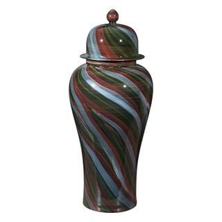 Galax Multicolor Ceramic Jar