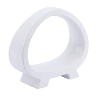 Arco White Ceramic Small Figurine