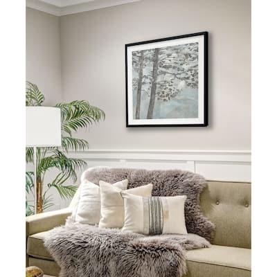 Soft Silhouette Trees -Framed Giclee Print