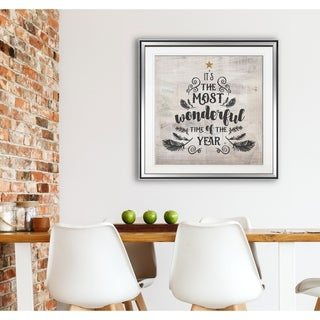 Most Wonderful Time -Framed Giclee Print