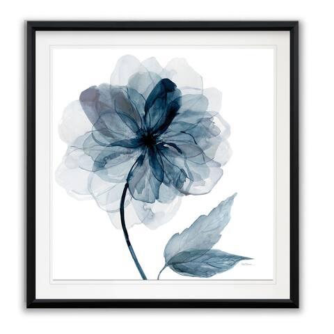 Indigo Bloom I -Framed Giclee Print