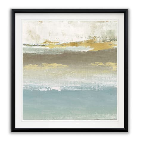 Soft Solace Detail II -Framed Giclee Print