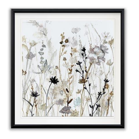 Wildflower Mist II -Framed Giclee Print