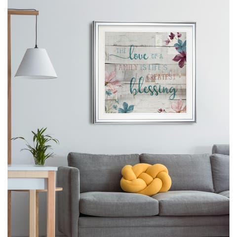 Family Blessing -Framed Giclee Print