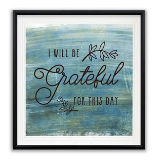 Grateful -Framed Giclee Print