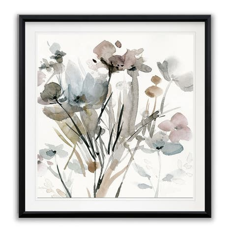 Dainty Blooms I -Framed Giclee Print