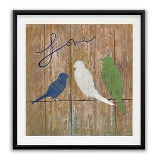 Love -Framed Giclee Print