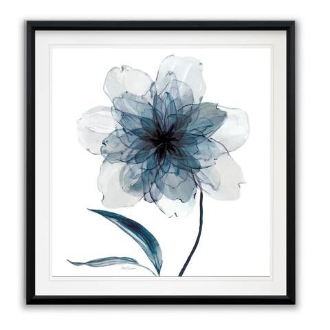 Indigo Bloom II -Framed Giclee Print