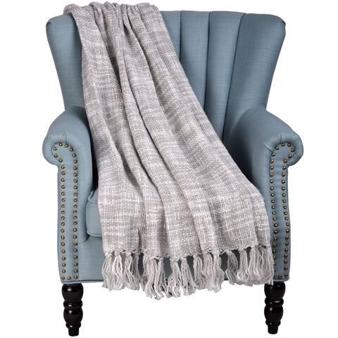 BOON Dottie May Chenille Throw Blanket