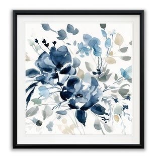 Indigo Garden II -Framed Giclee Print