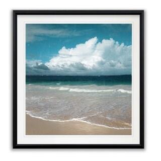 Beach Waves -Framed Giclee Print