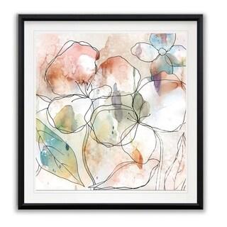 Floral Flow I -Framed Giclee Print