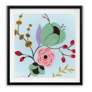 Vintage Flowers II -Framed Giclee Print