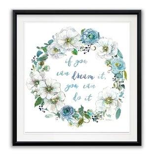 Dream Wreath -Framed Giclee Print