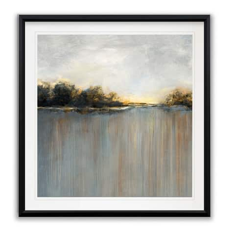 Rainy Sunset I -Framed Giclee Print