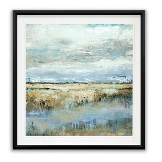 Coastal Marsh -Framed Giclee Print
