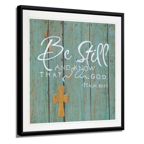 Be Still -Framed Giclee Print