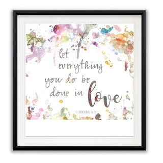 Done In Love -Framed Giclee Print