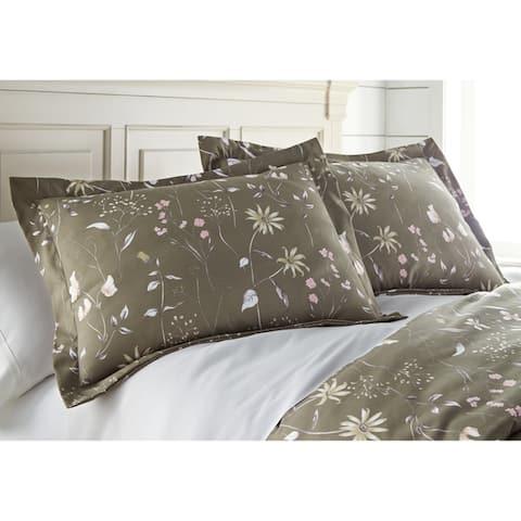 Vilano Premium Ultra-Soft Secret Meadow Floral Duvet Cover and Sham Set