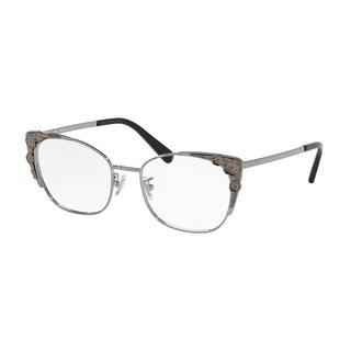 Coach Cateye HC5094 Women GUNMETAL Frame DEMO LENS Lens Eyeglasses